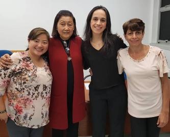 Dra Larsson, Dra Cristina Torres, Dra Paula Itikawa
